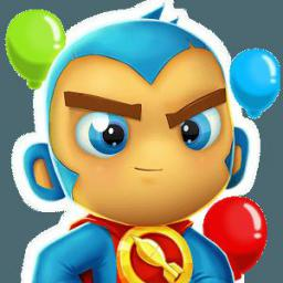 logo for Bloons Supermonkey 2 Unlimited Money
