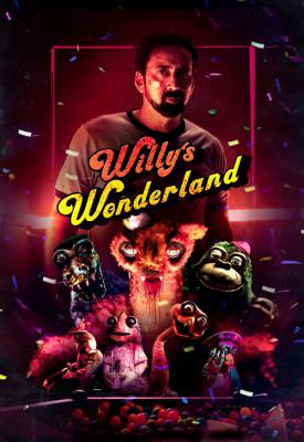 poster for Willy's Wonderland 2021