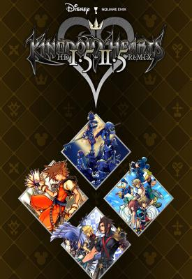 poster for Kingdom Hearts HD 1.5 + 2.5 ReMIX