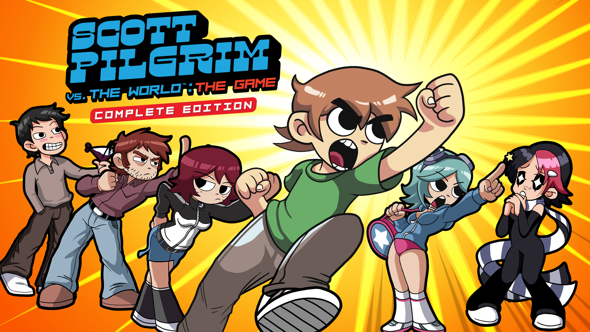 Scott Pilgrim vs. The World: The Game – Complete Edition v1.0.1 + Yuzu Emu for PC